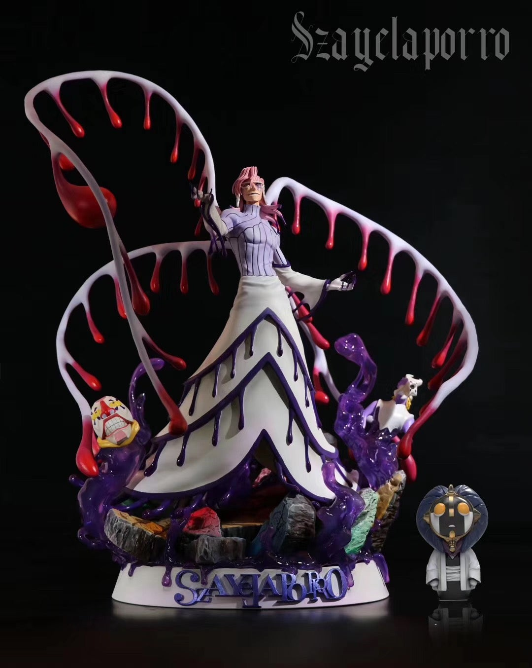 Image of [In-Stock]Bleach BP Studio SzayelAporro 1:8 Resin Statue