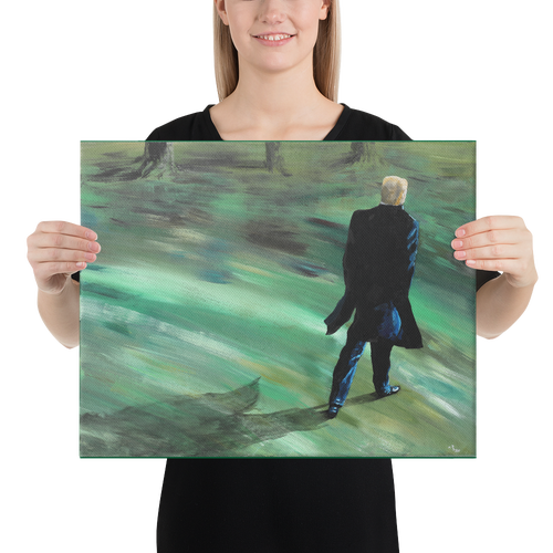 "Image of ""The Walk"" Gallery Canvas Print"