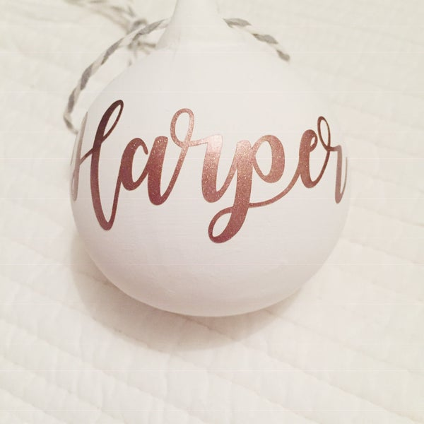 Image of Personalised bauble