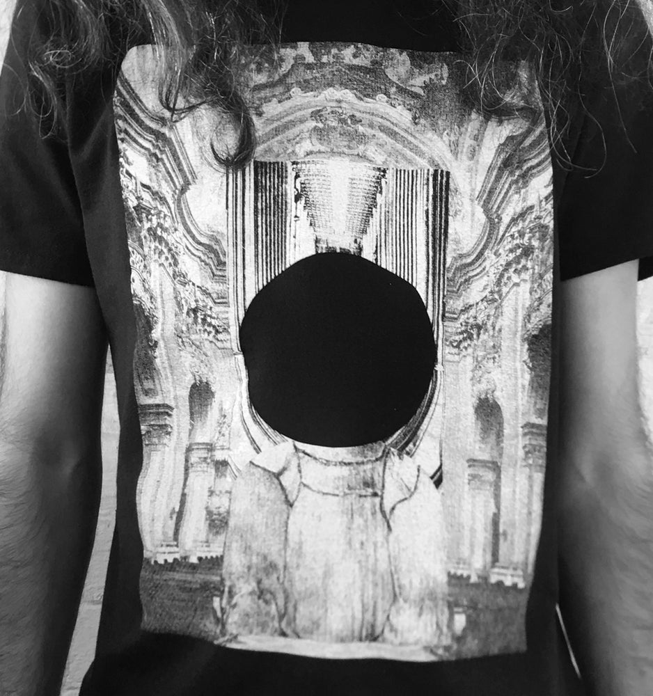 Image of GROOVER X AURORA BOREALIS RECORDS REMADE ØEJERUM/ BLACK HOLE T