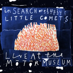 Image of 'In Search of Elusive Little Comets Live' Signed Vinyl