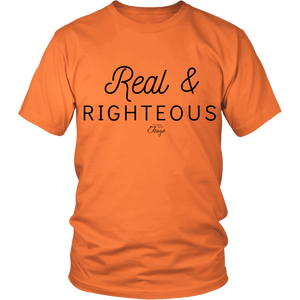 Image of Real & Righteous shirt