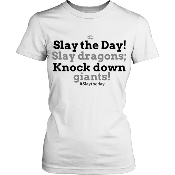 Image of Slay the Day Shirt - Fitted