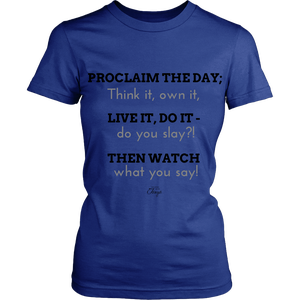 Image of Proclaim the Day Shirt - Fitted