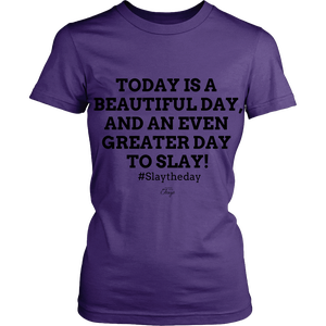 Image of Today Slay Shirt - Fitted