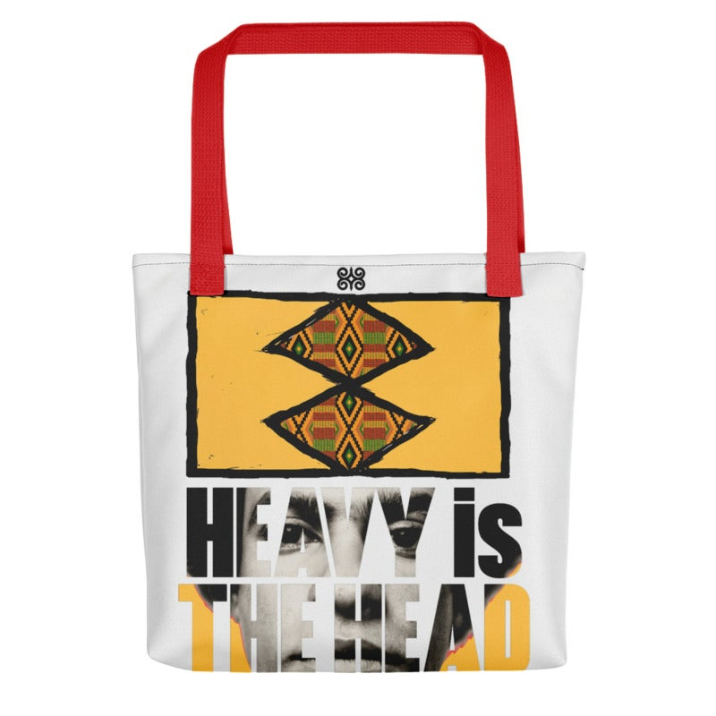 Image of 'Heavy is the Head' Tote