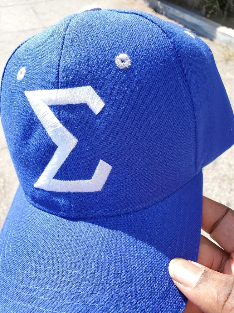 Image of Sigma Baseball Cap- Velcro Back