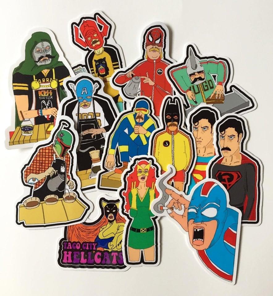 Image of Full Sticker Set
