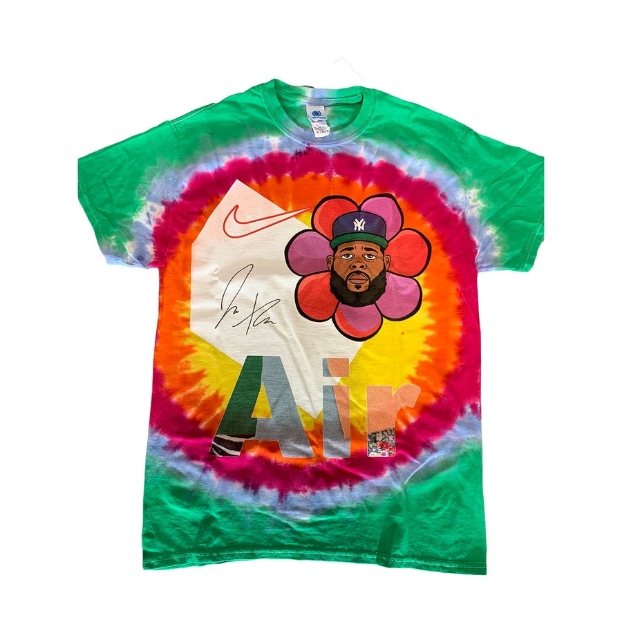 Image of Air Jae Tips tye die tee