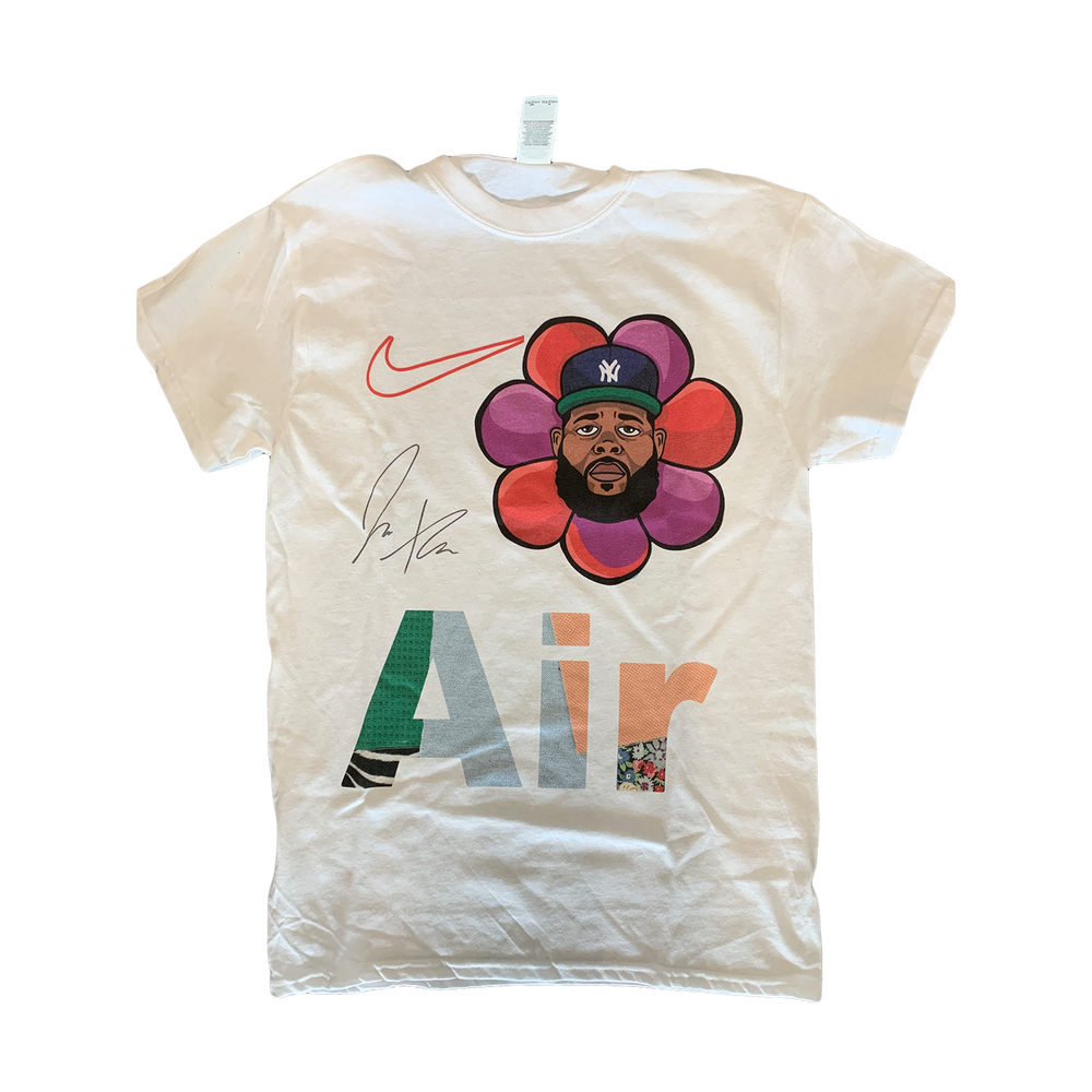 Image of Air Jae Tips white tee