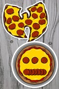 Image of Pizza stickers (assorted)