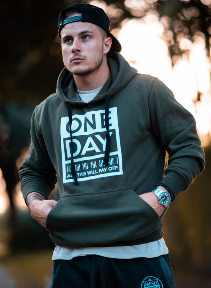 Image of OneDay Hoodie | Olive Green