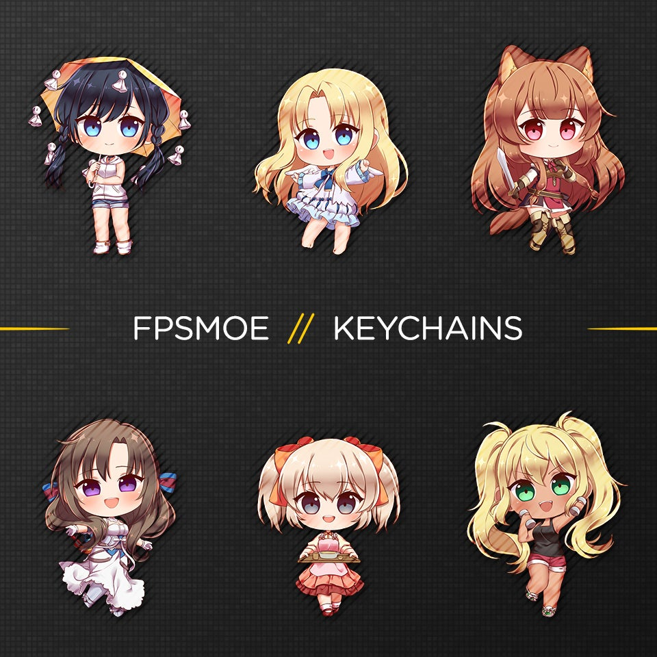 Image of More Keychain by Hurashi