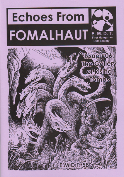 Image of Echoes From Fomalhaut #06: The Gallery of Rising Tombs