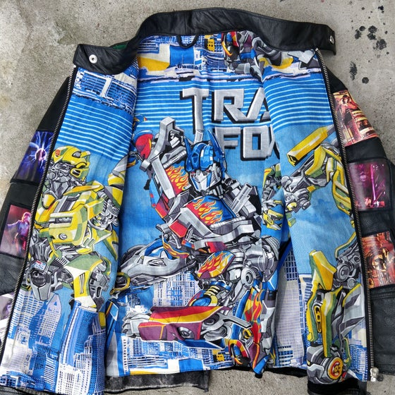 Image of Transformers Leather Jacket