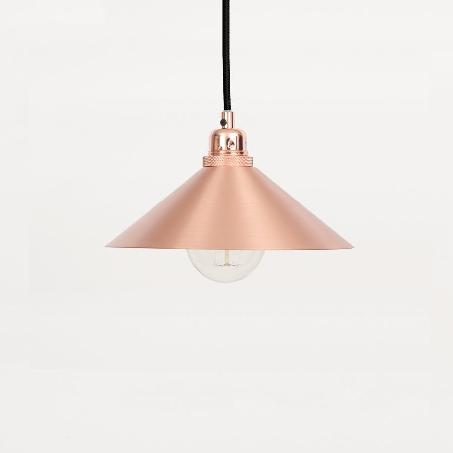 Image of Copper cone pendant by Frama