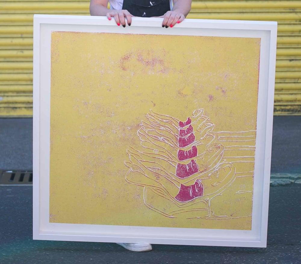 Image of MEGA Six Glorious Women (yellow) Giclée Reproduction