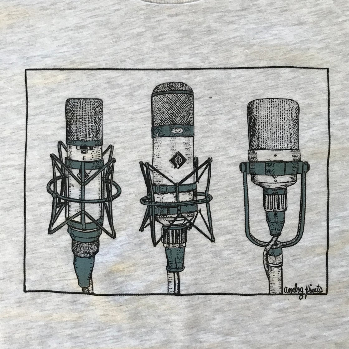 Image of * Microphone Legends Shirt *