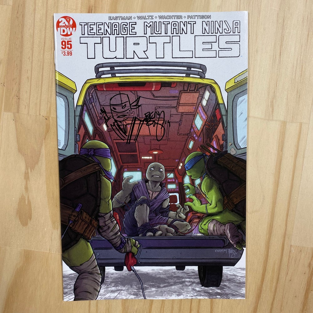 Image of TMNT 95 2nd PRINT - JENNIKA 1st APPEARANCE