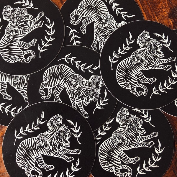 Image of Hydra Tiger Stickers