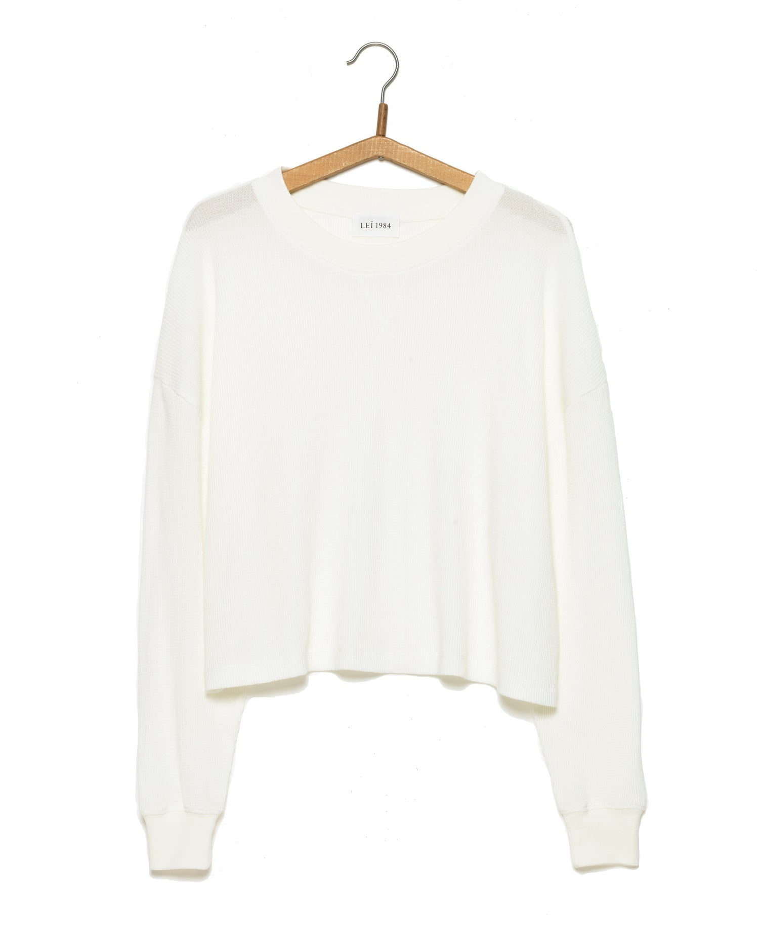 Image of Top cropped nid d'abeille ANABEL 69€ -50%