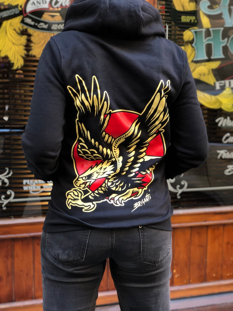 Image of NEW** Eagle Hoodie