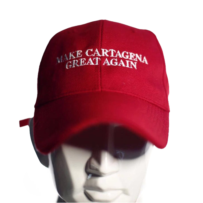 Image of The Wild Brunch® Make Cartagena Great Again Hat™ in Red