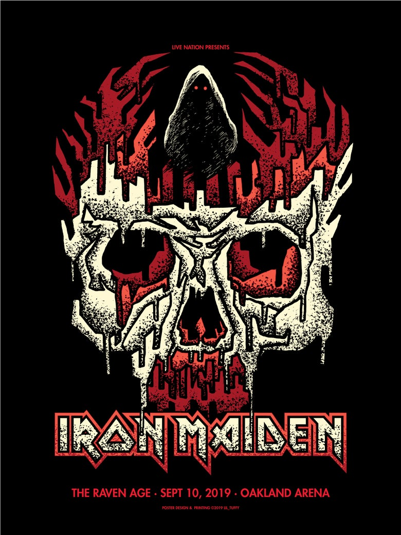 Image of Iron Maiden - Oakland 2019