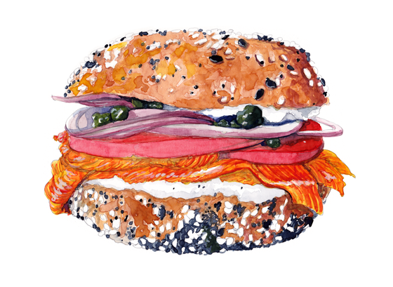 Image of Bagel & Lox