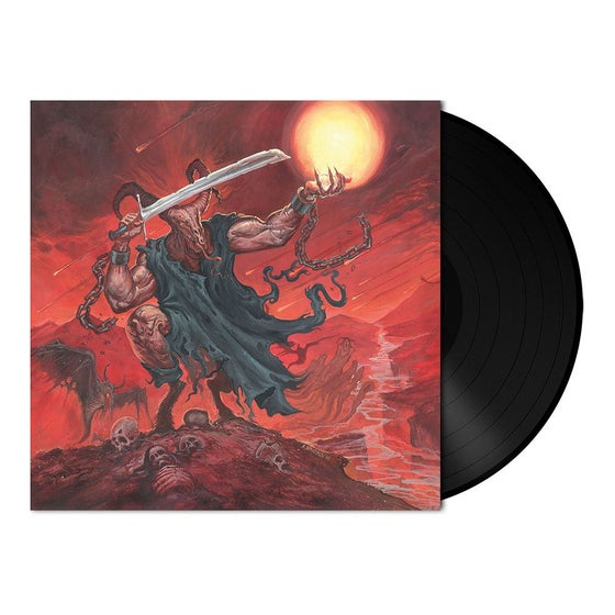 Image of Satan's Boundaries Unchained LP Black and Splatter