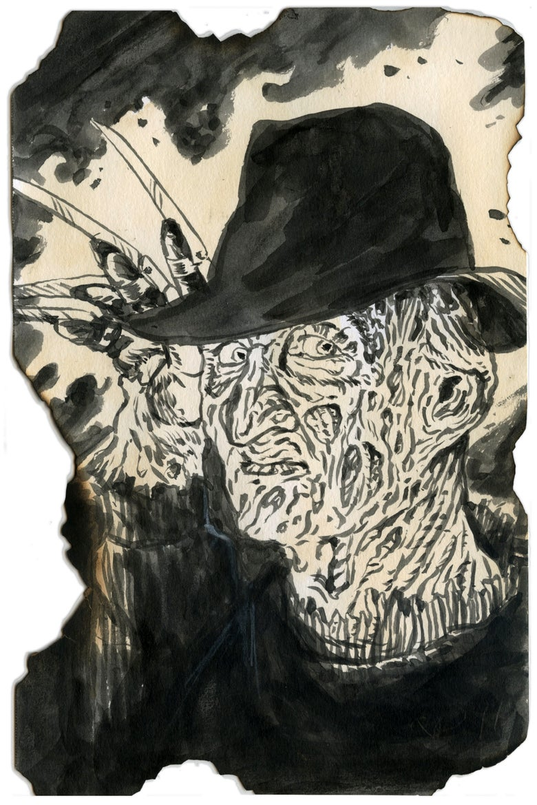 Image of Nightmare On Elm Street sketch cards