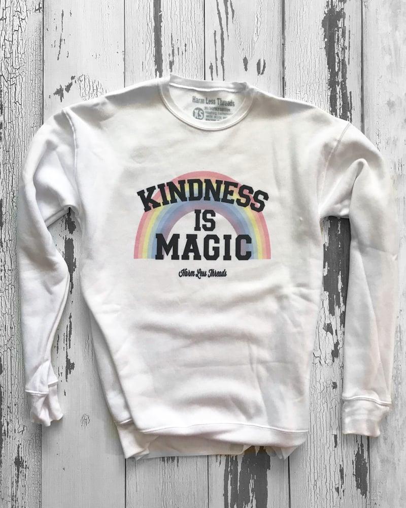 Image of Kindness is Magic unisex crewneck sweatshirt