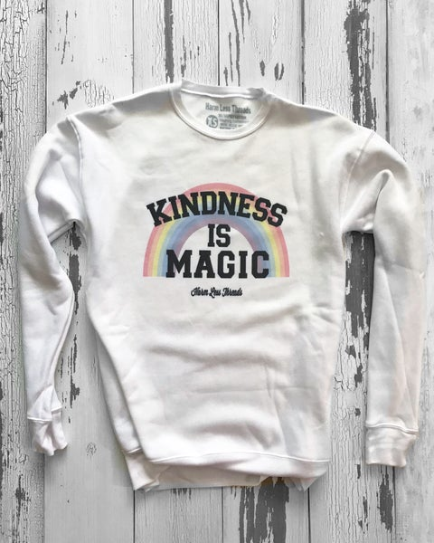 Image of Kindness is Magic unisex crewneck sweatshirt