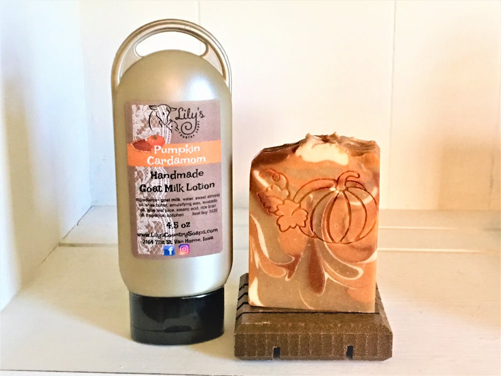 Image of Pumpkin Cardamom Goat Milk Lotion