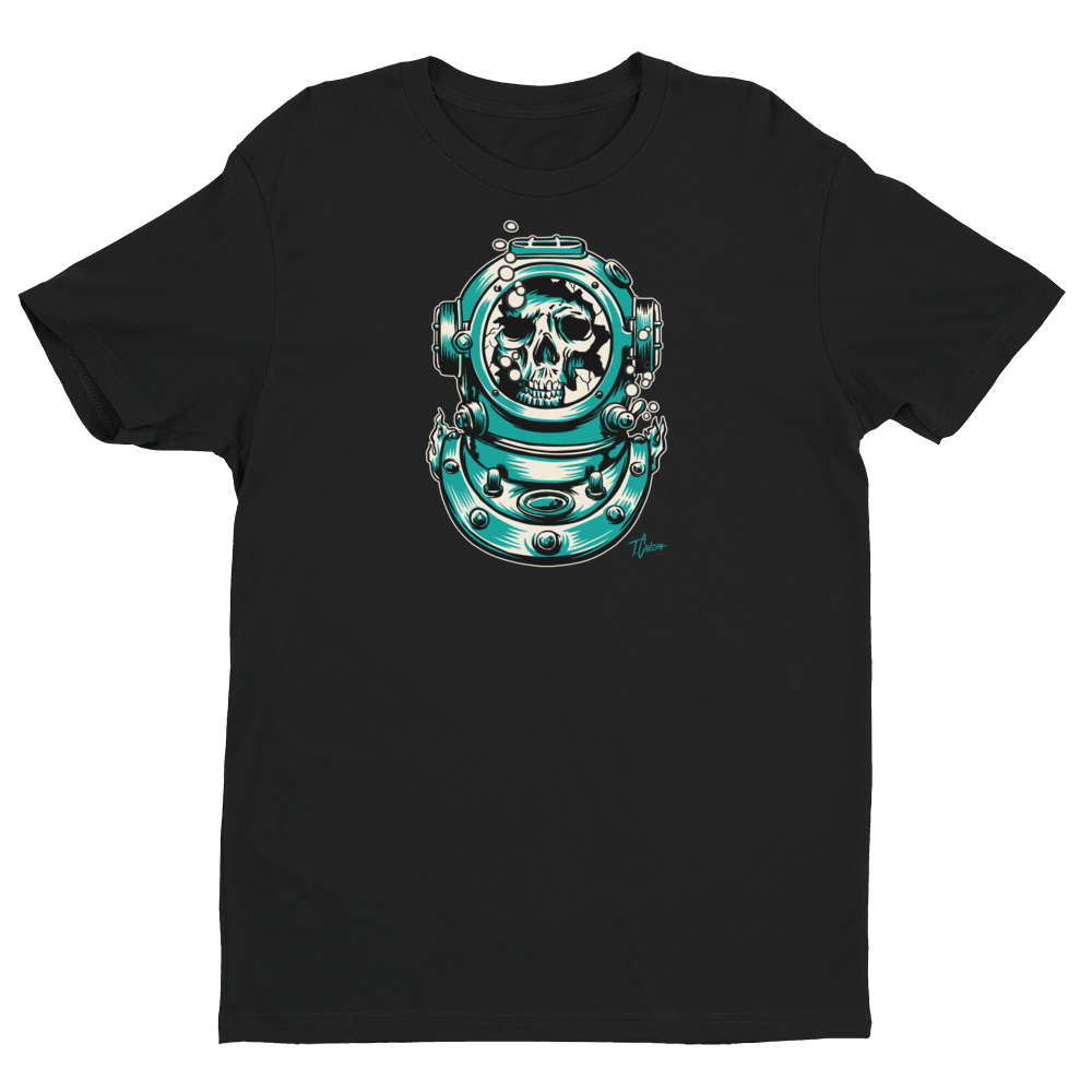Image of Lost Diver T-Shirt - BLACK
