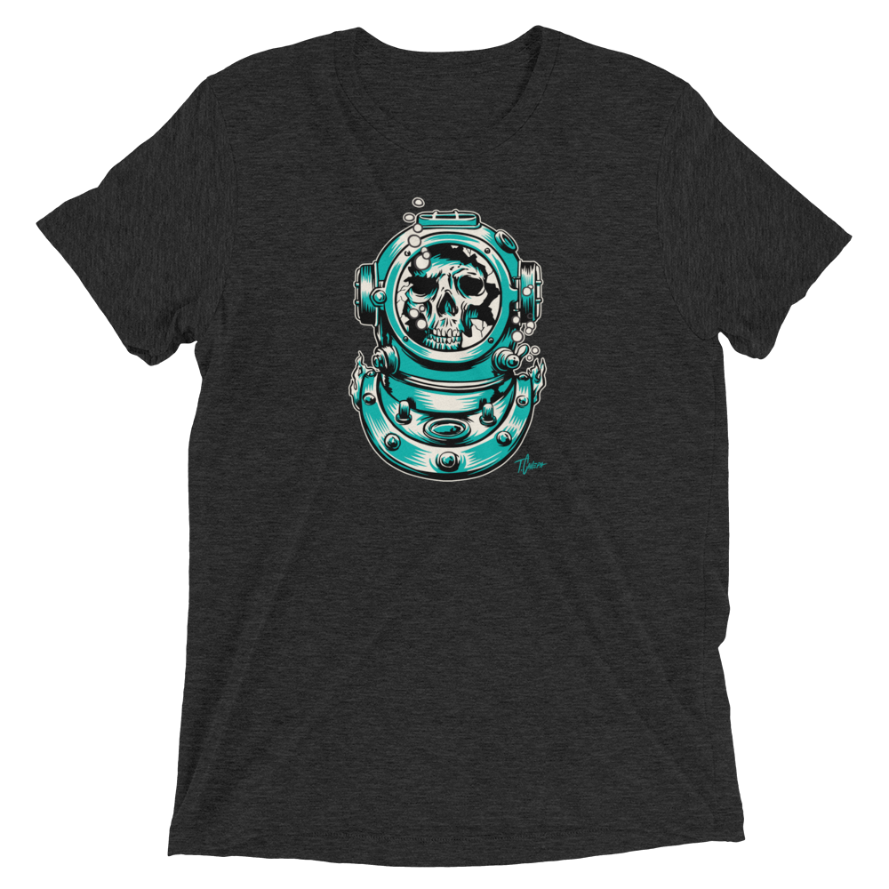 Image of Lost Diver T-Shirt - CHARCOAL