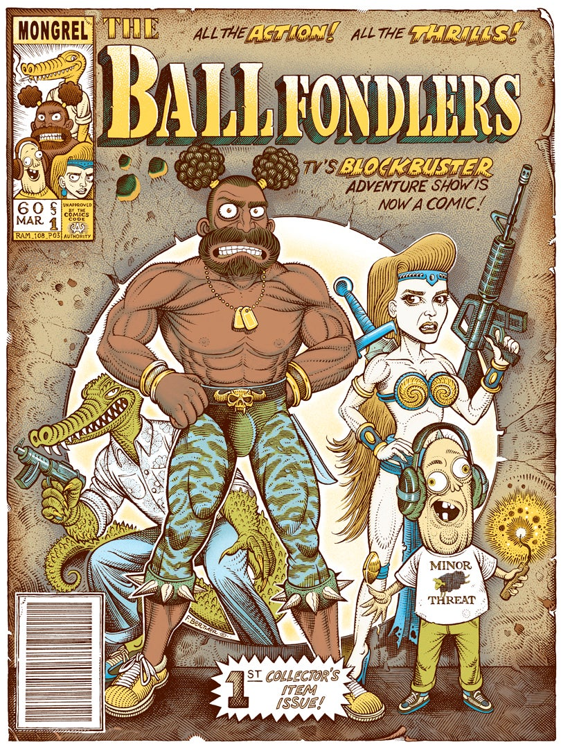 "Image of ""Ballfondlers"" Variant Artist Edition"