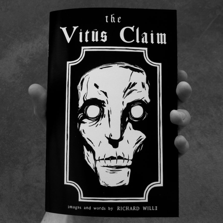Image of The Vitus Claim - chapbook/zine