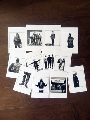 "Image of Drew Carolan's ""Matinee"" POSTCARD set LIMITED EDITION, WITHOUT slipcase"