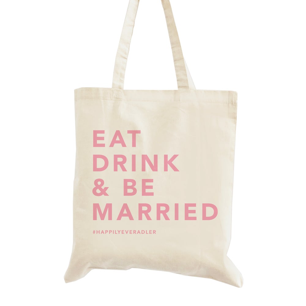 Image of Eat Drink and Be Married Wedding Welcome Bag