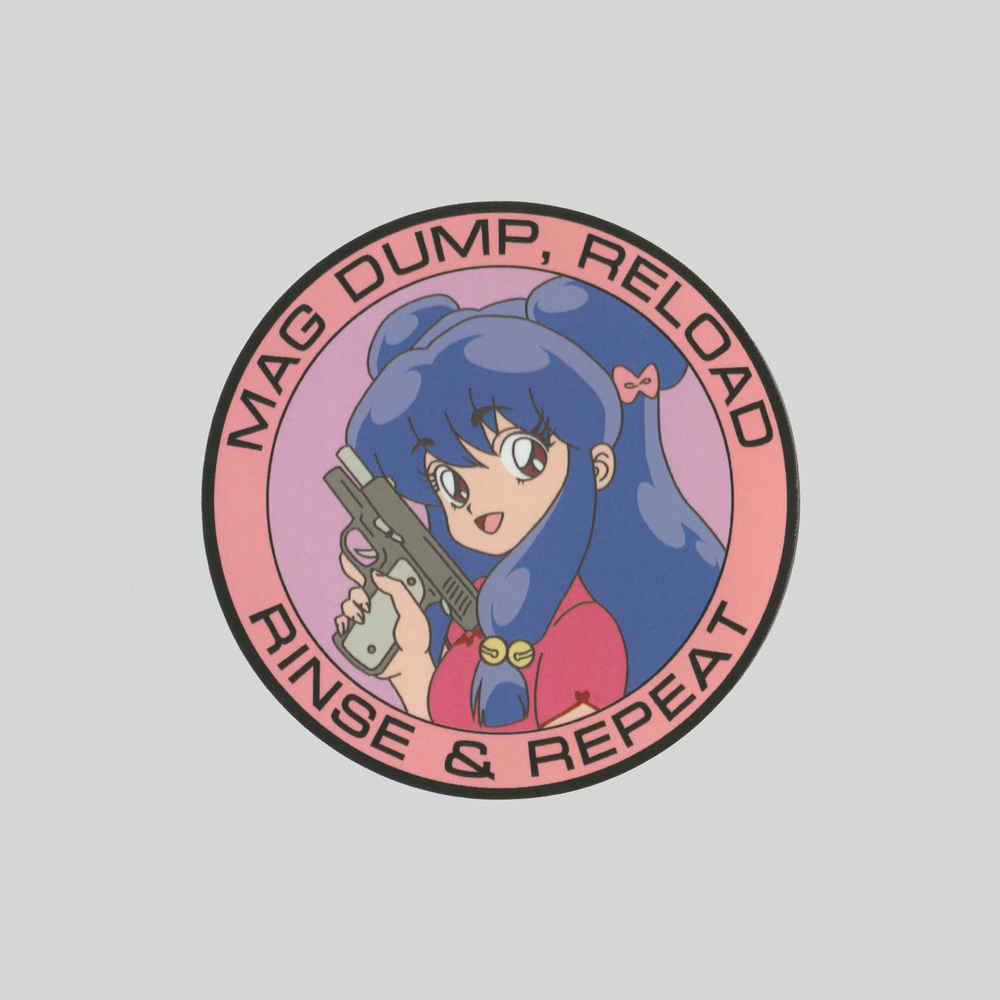 Image of MAG DUMP, RELOAD (sticker)