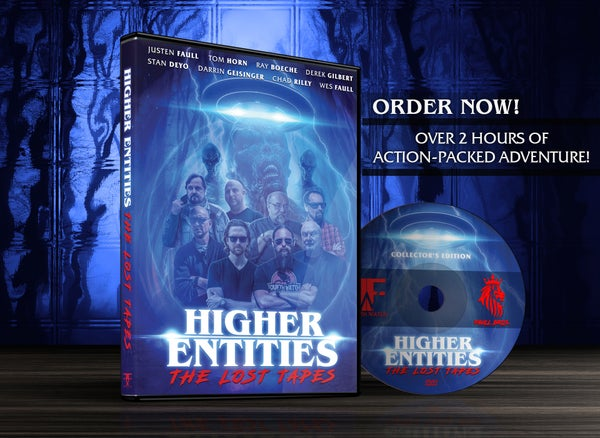 Image of HIGHER ENTITIES: The Lost Tapes DVD