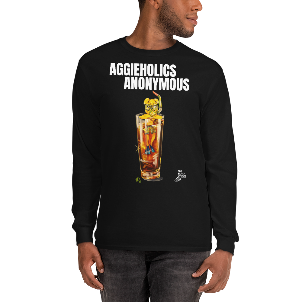 Image of AGGIEHOLICS ANONYMOUS (long sleeve)