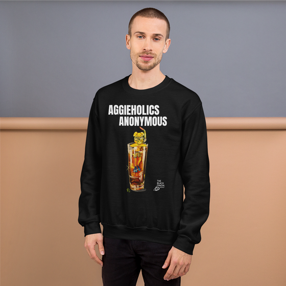 Image of AGGIEHOLICS ANONYMOUS (crewneck)