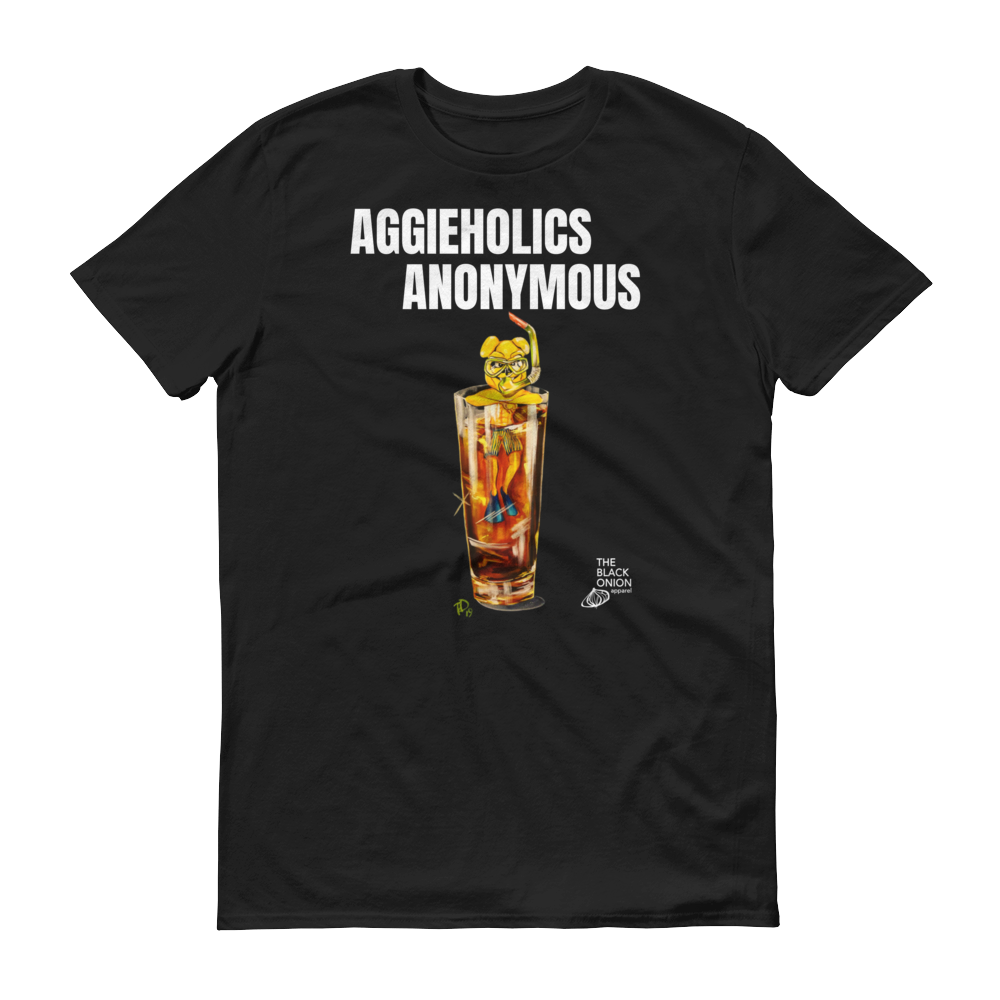 Image of AGGIEHOLICS ANONYMOUS (short sleeve)