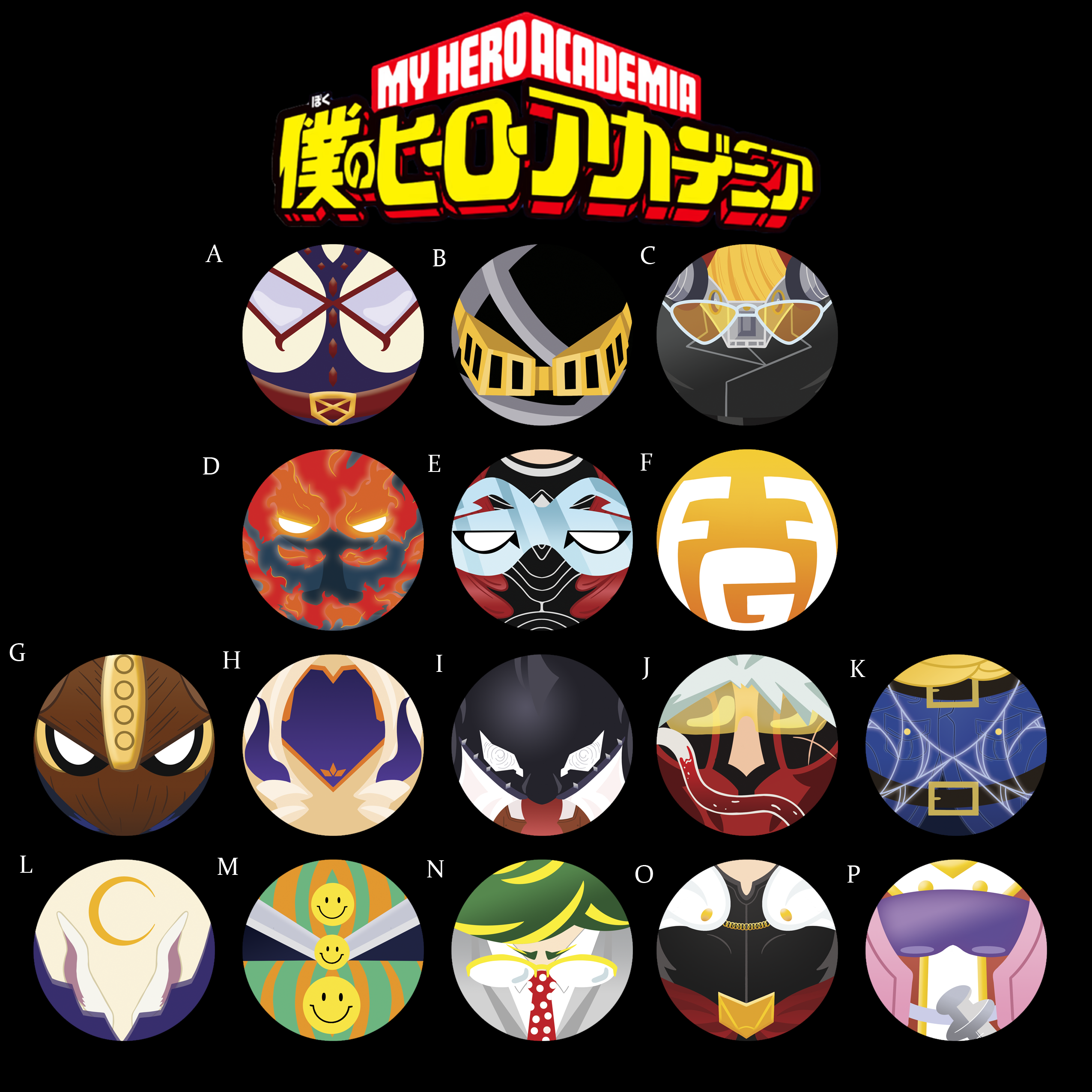 Bnha 1 5 Buttons Pro Hero Fanficismything