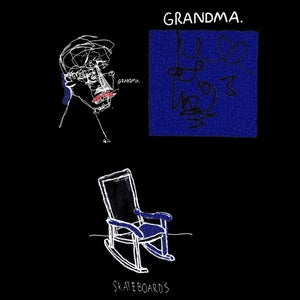 Image of Grandma Skateboards T-Shirt (Black)