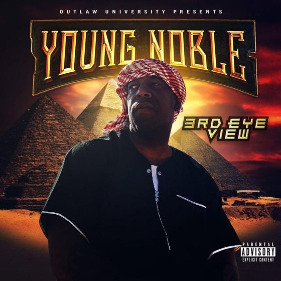 Image of Young Noble latest solo album ( 3rd Eye View) Autographed copies - FREE SHIPPING
