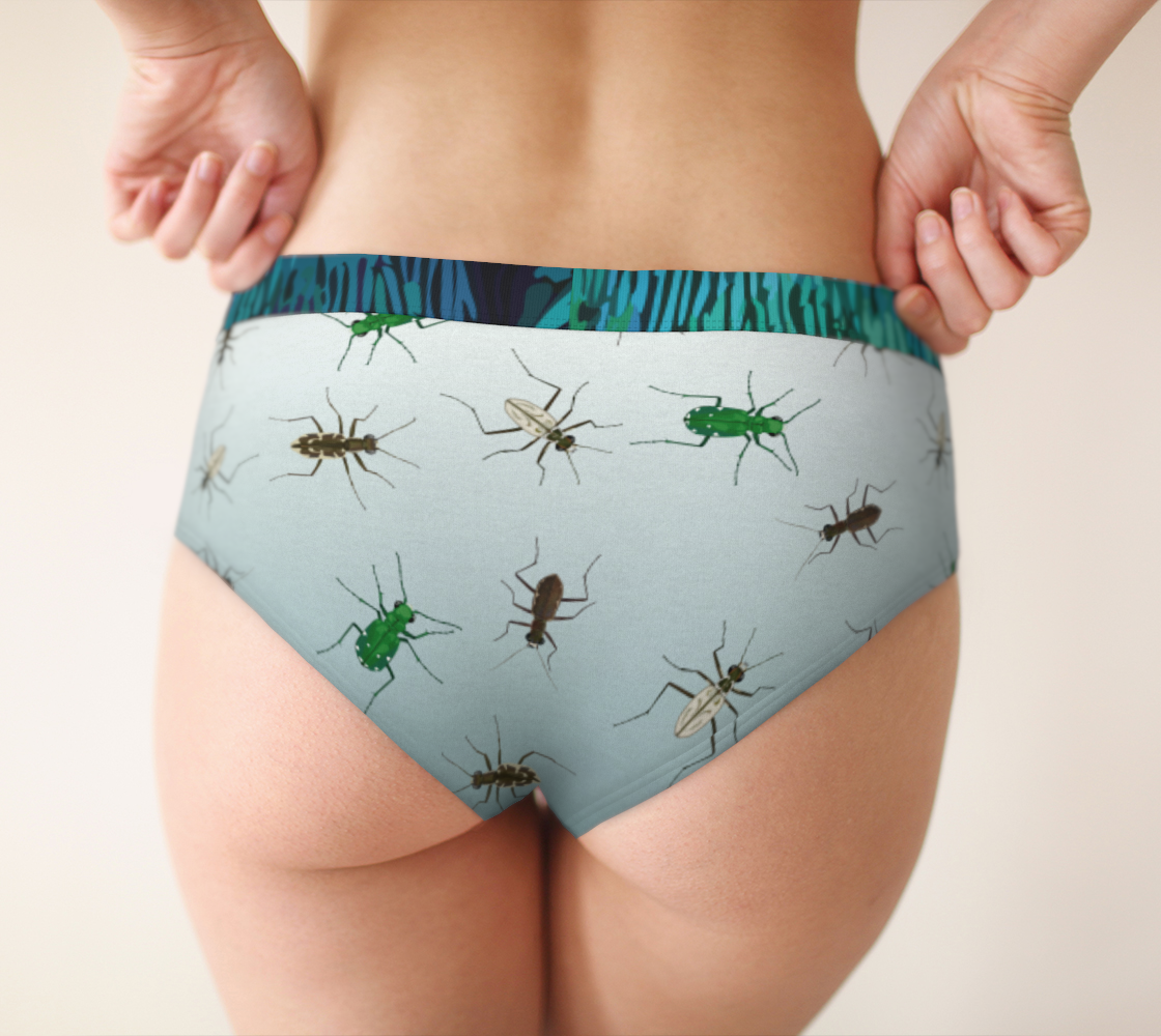 Image of Tiger Beetle Cheeky Briefs