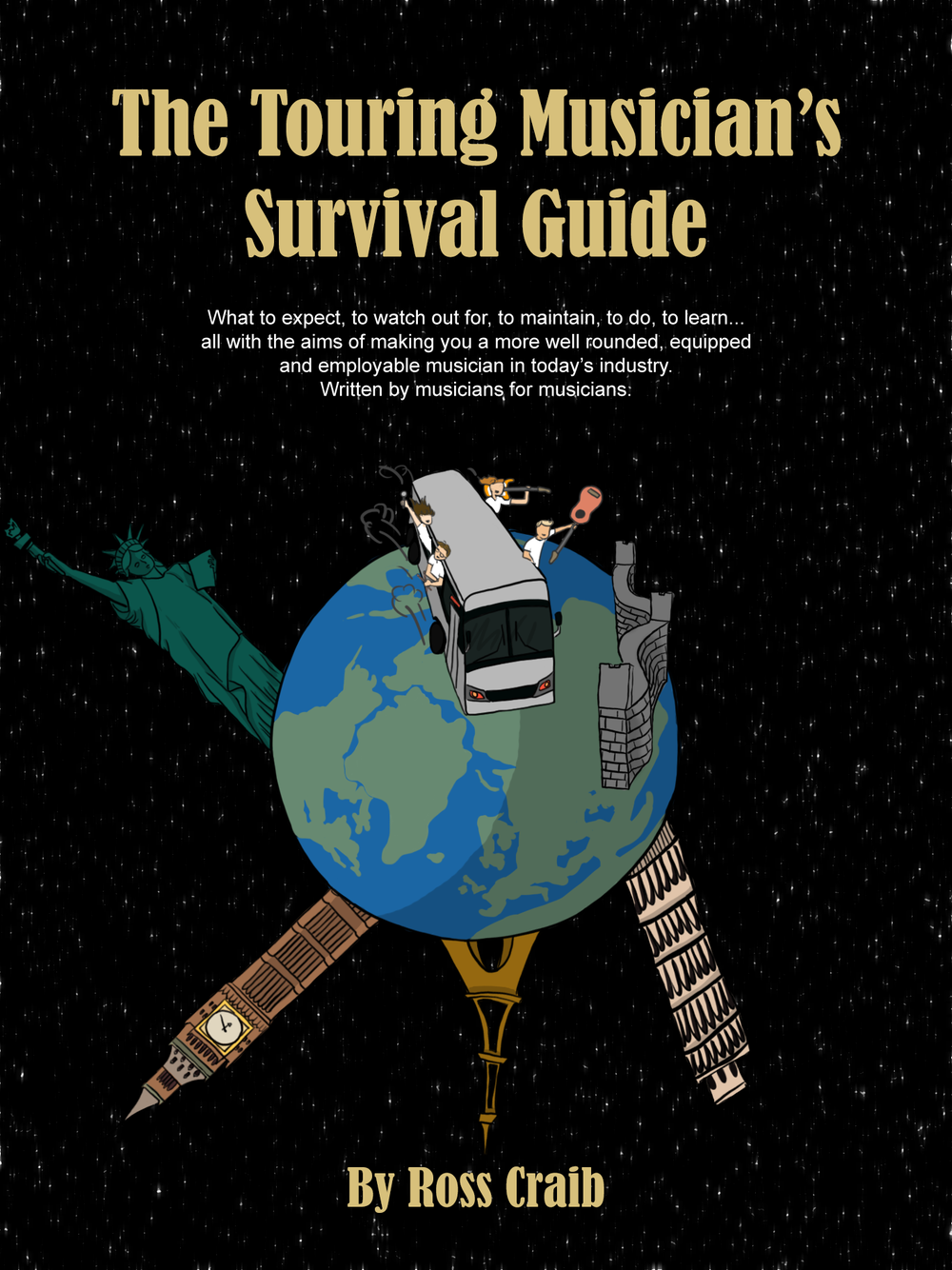 Image of The Touring Musician's Survival Guide - Paperback